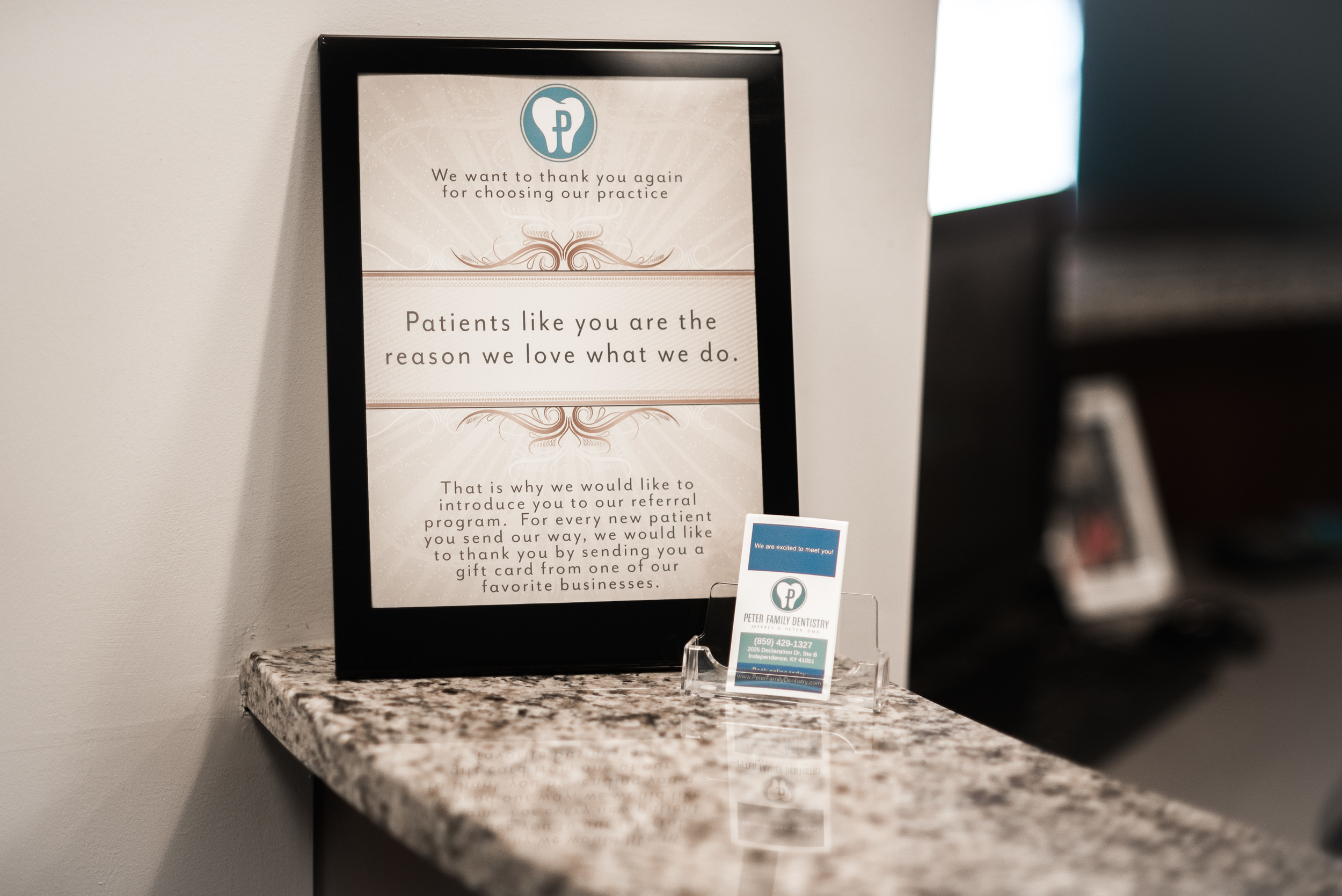 Welcome Sign For Patients