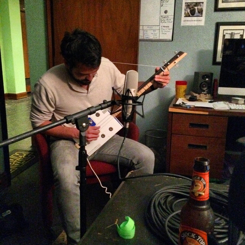 Kyle Reid plays his custom made cigar box guitar and talks marketing your music.