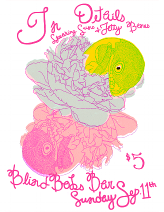 Flier by Sarah Collins