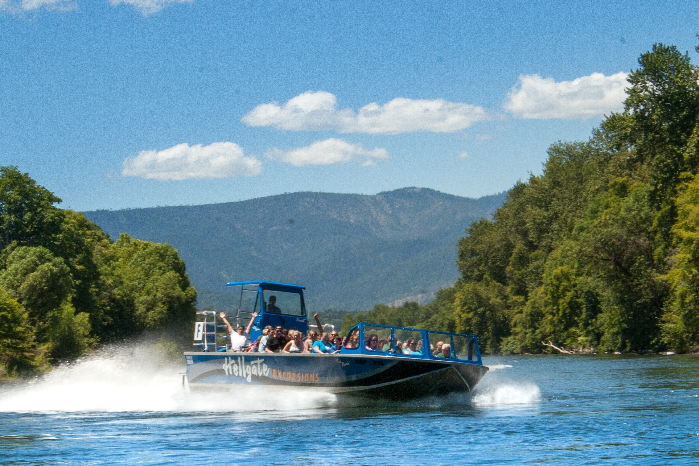 Hellgate Jetboat Excursion tours run May through September every year!