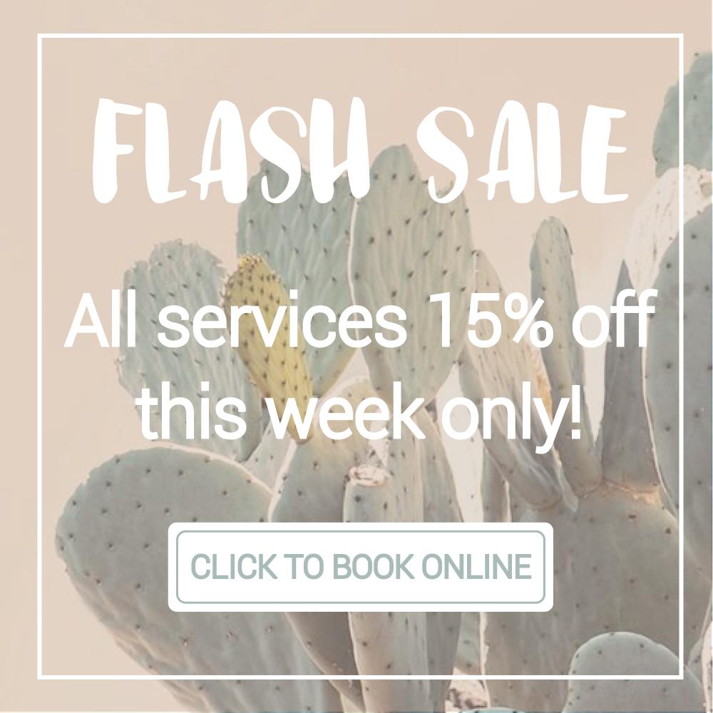 Flash Sale Girl on the Go