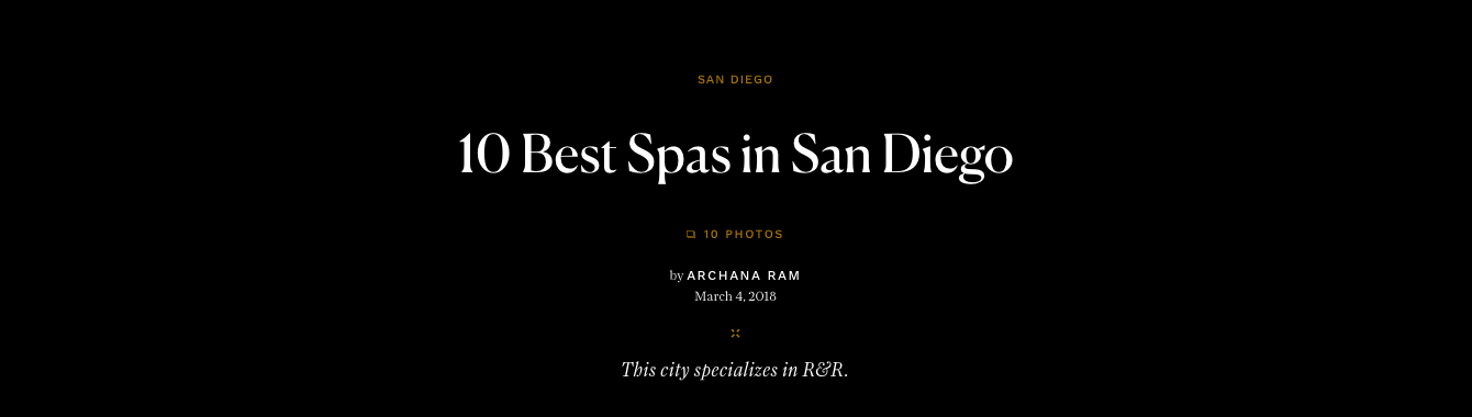 10 Best Spas in San Diego