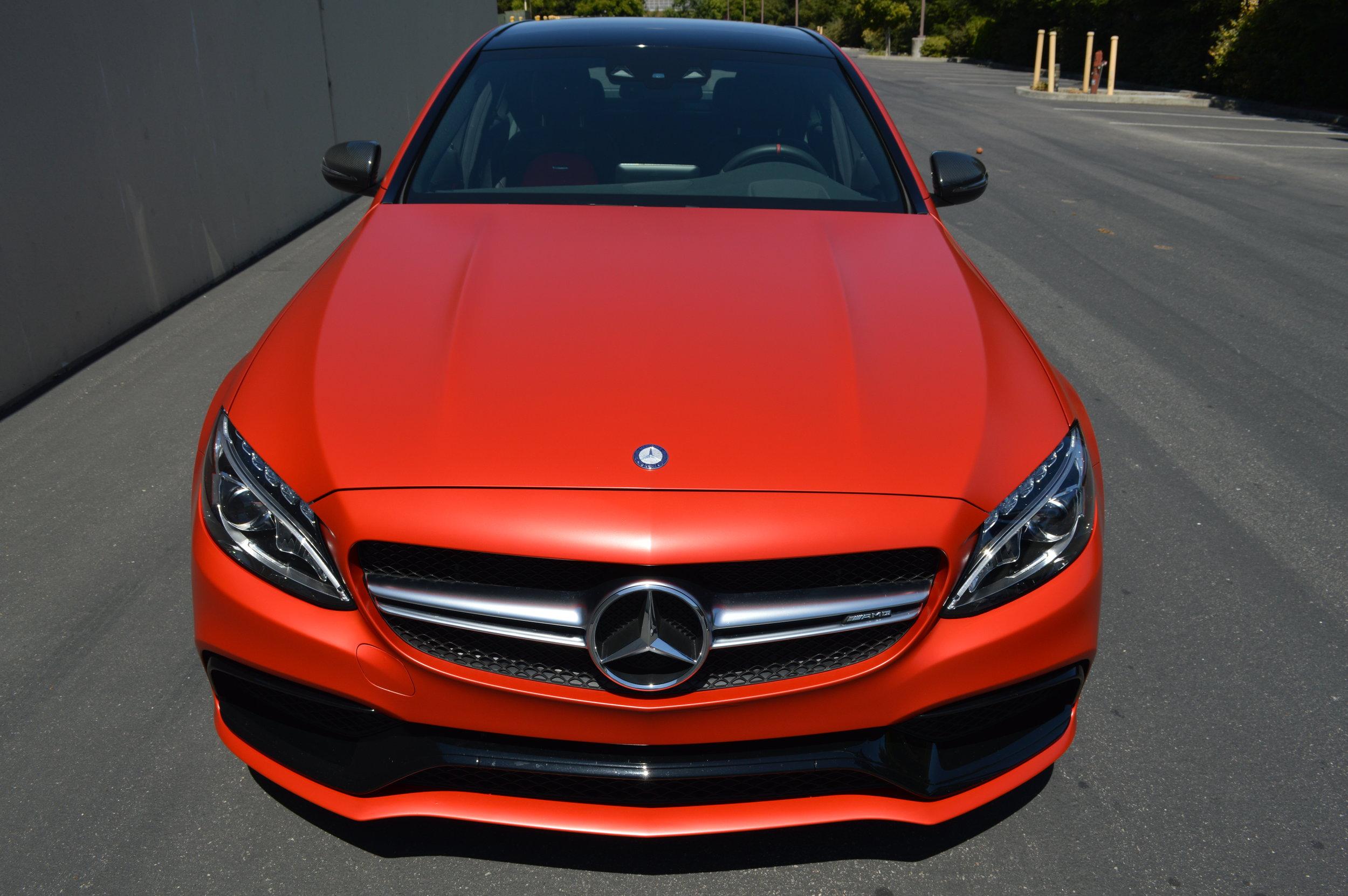 satin red color change