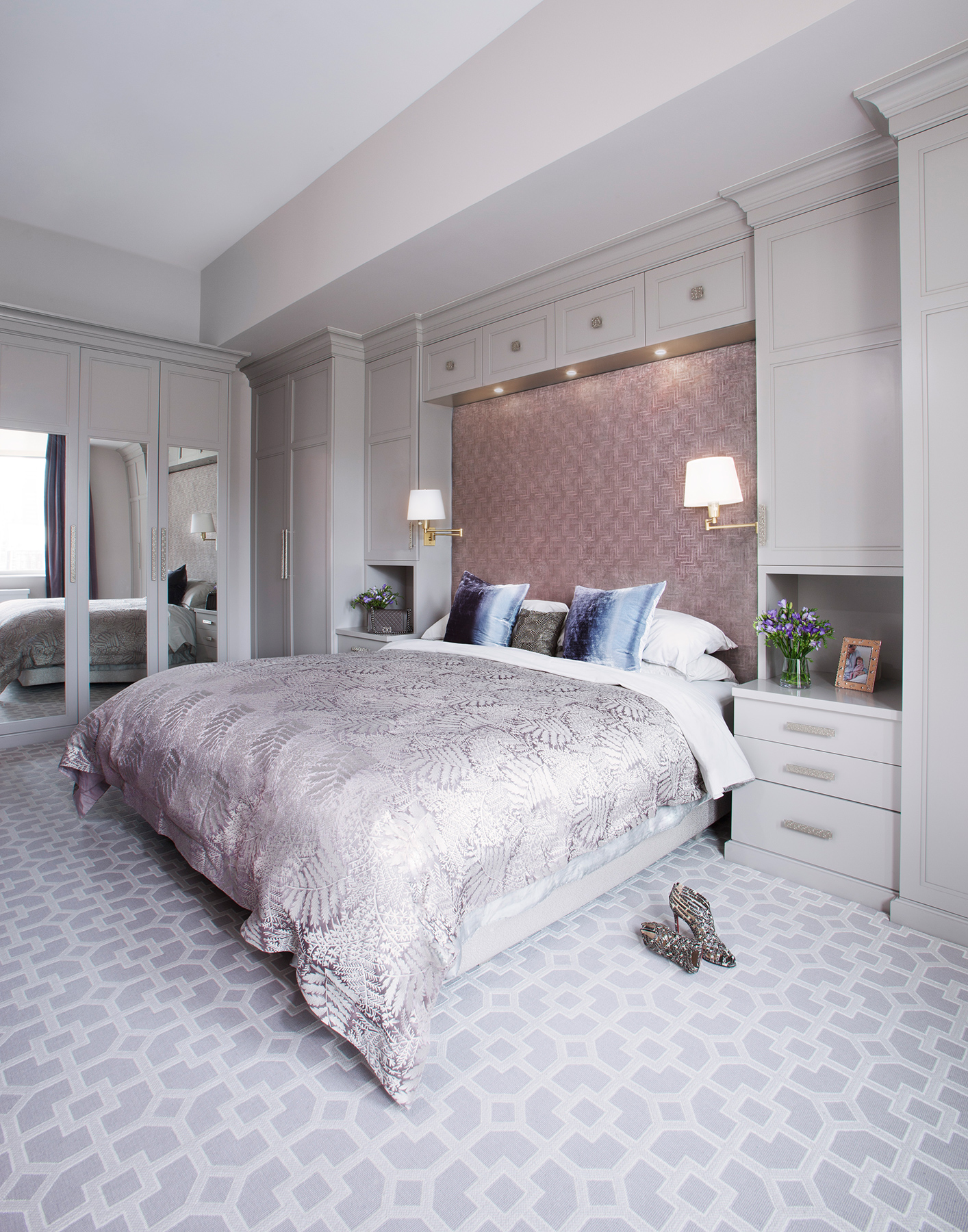 interior Design Photography in New York By Jonathan R. Bevkerman Design By Evelyn Benatar 7th Ave_Master Bed Room 02.jpg