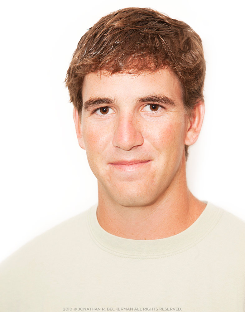 ELI MANNING FOOTBALL NFL EDITORIAL SPORTS PLAYER PORTRAIT ESPYS LOS ANGELES © JONATHAN R BECKERMAN PHOTOGRAPHY.jpg
