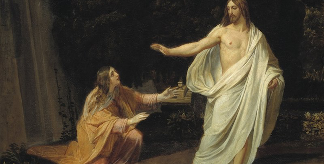 The Appearance of Christ to Mary Magdalene after the Resurrection (1833-1835)