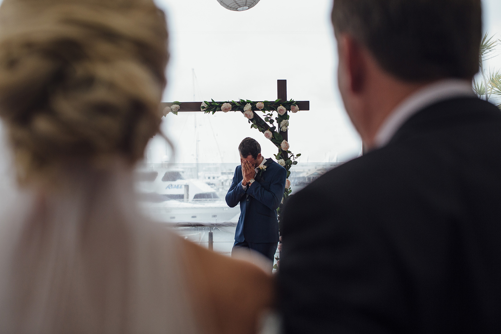 A good wedding photographer anticipates moments