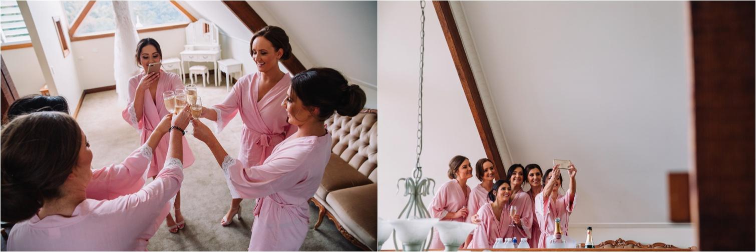 Maleny Manor bridesmaids