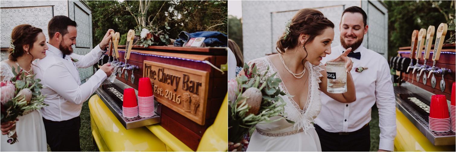 Mobile Bar Wedding Photography