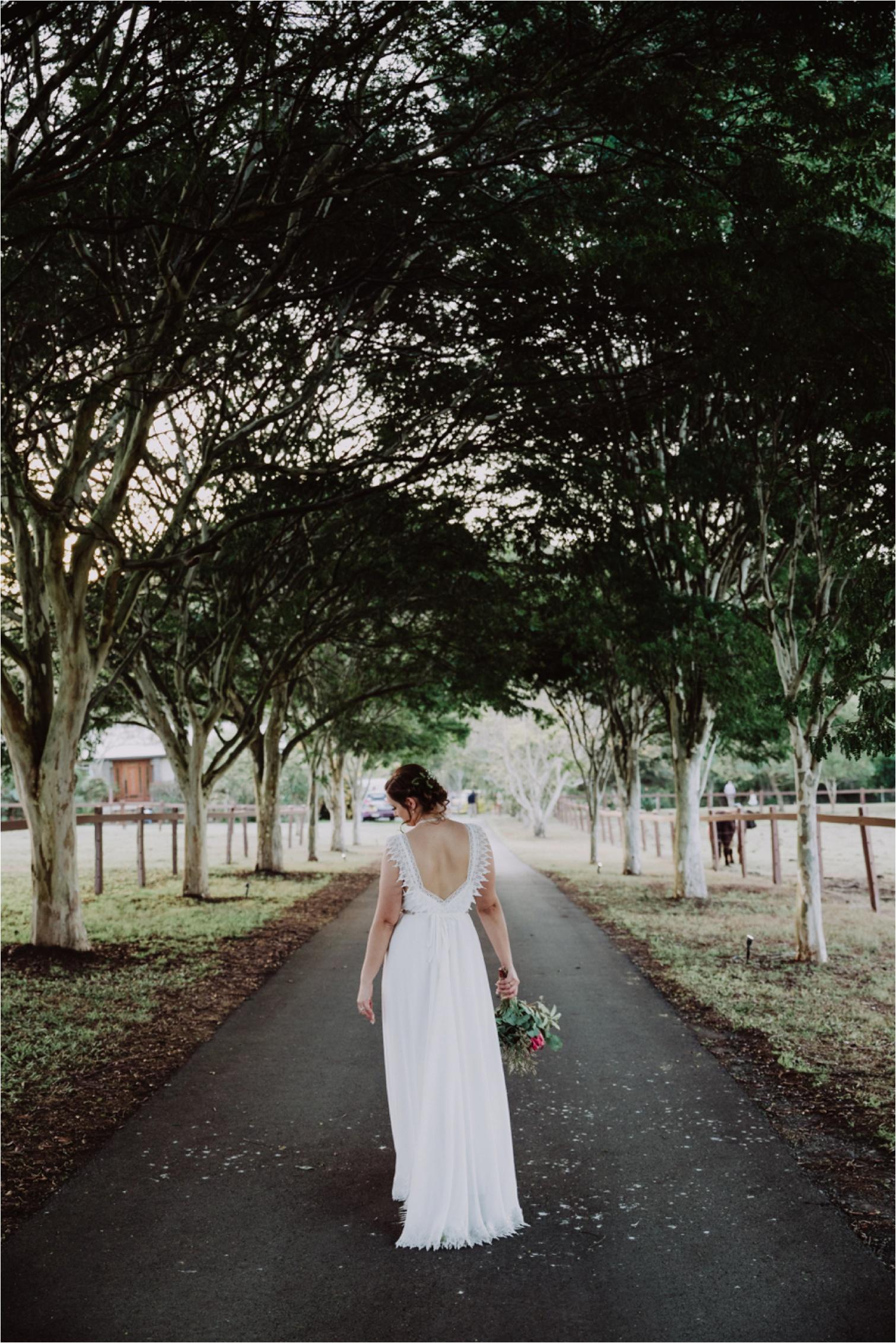 Bohemian Bride Gown