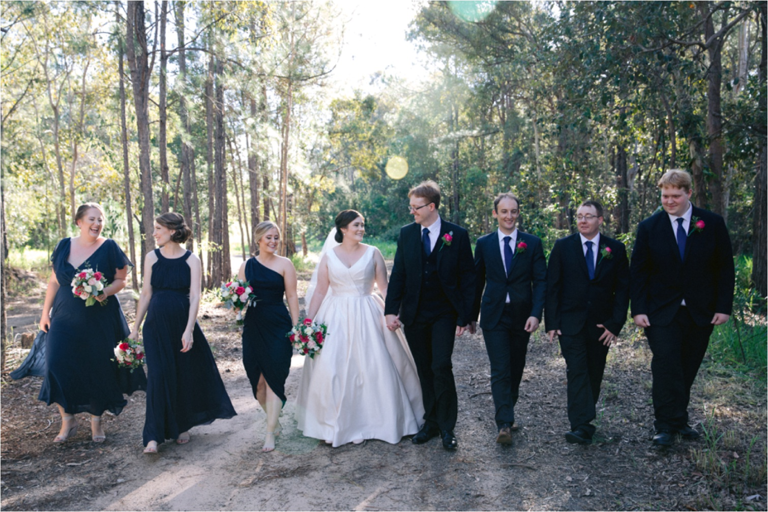 Bridal_party_walking_Wedding_Photography