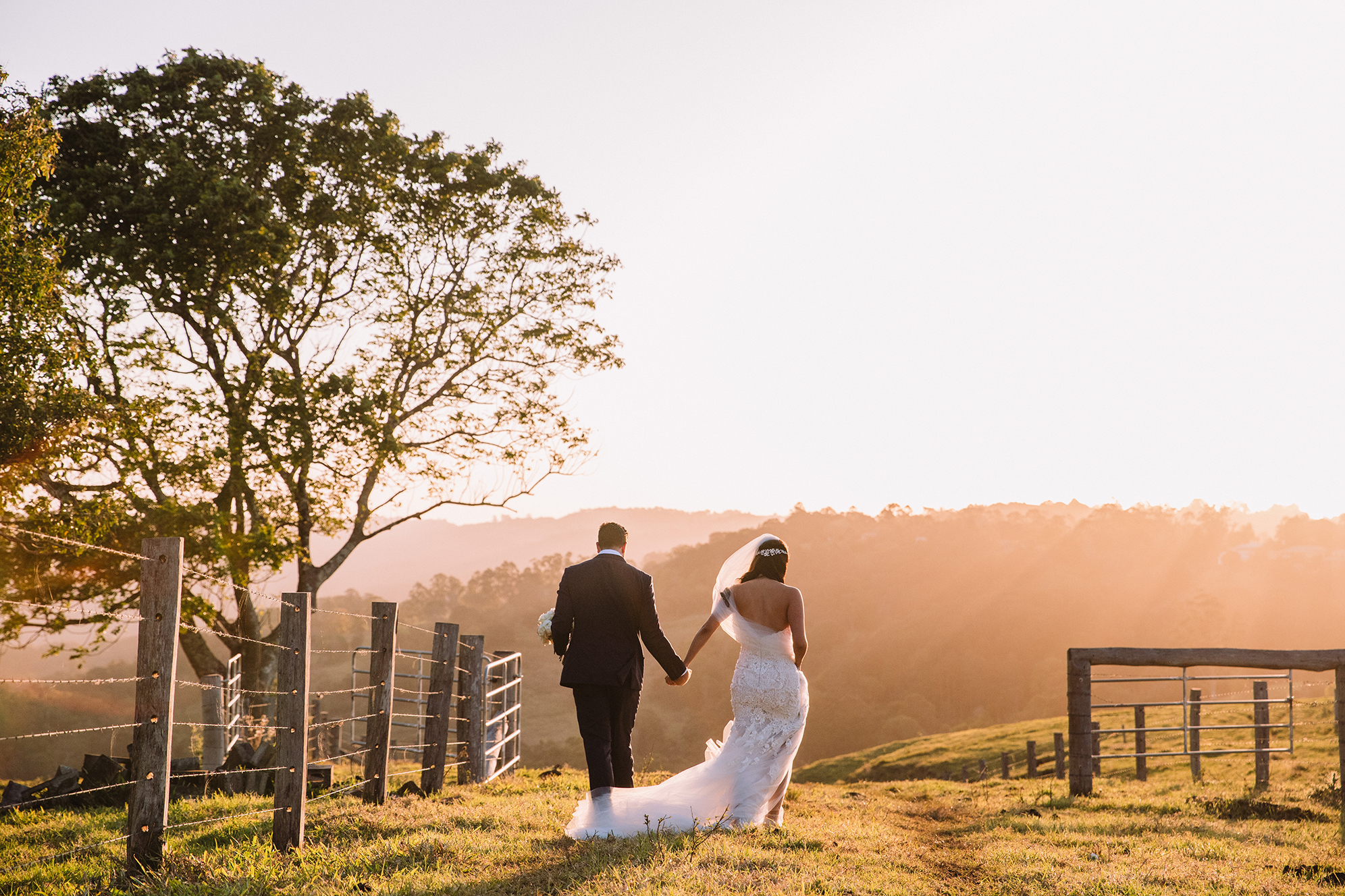 Gold Coast Wedding Sunset Videography