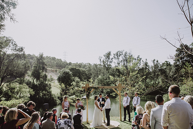Capture your ceremony for those that can't make your wedding in person.