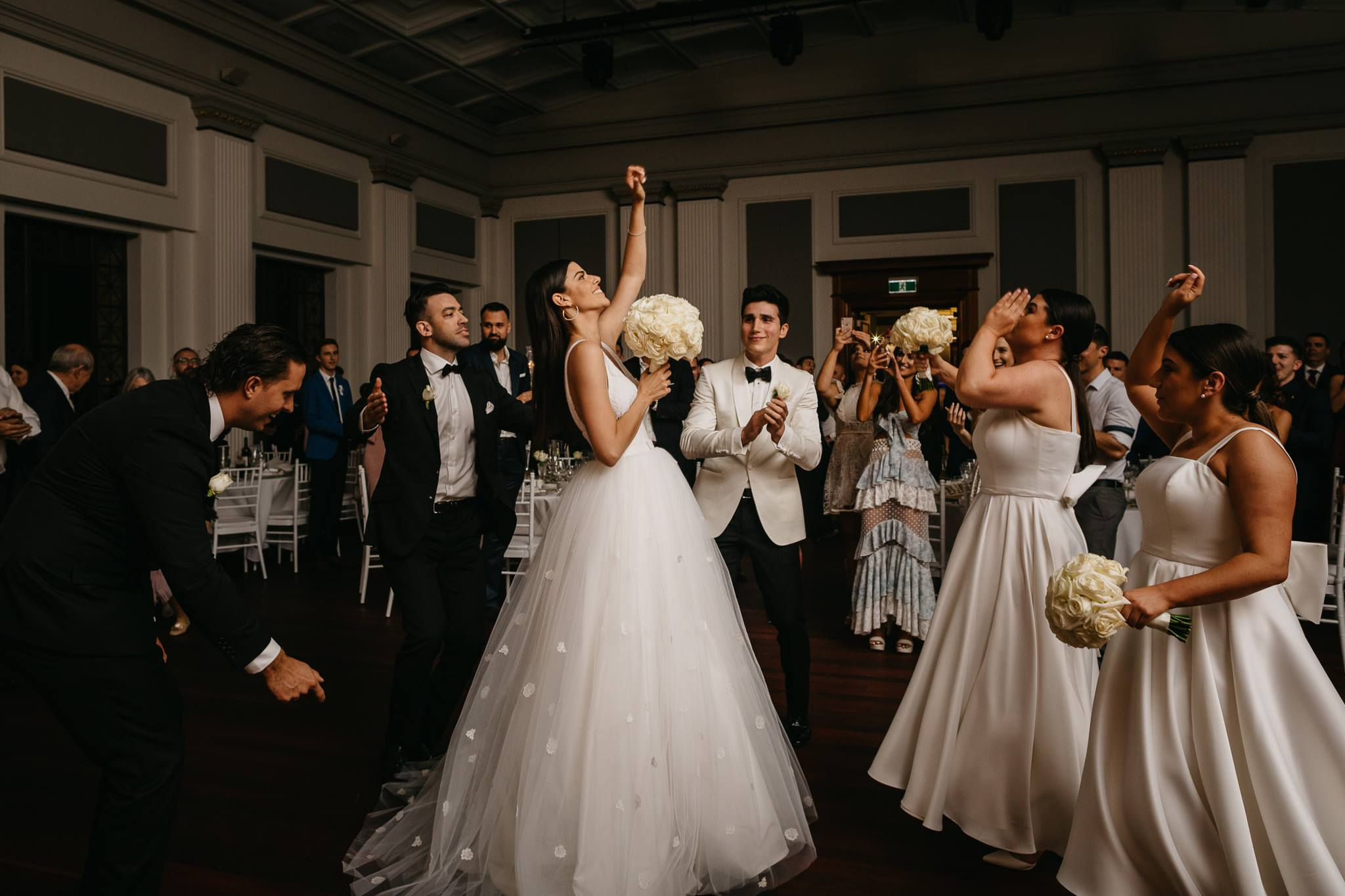 Capture all the movement & excitement of your wedding on film.