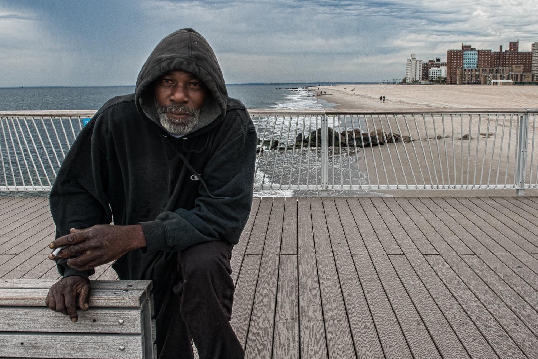 Coney Island - Portrait on the Pier