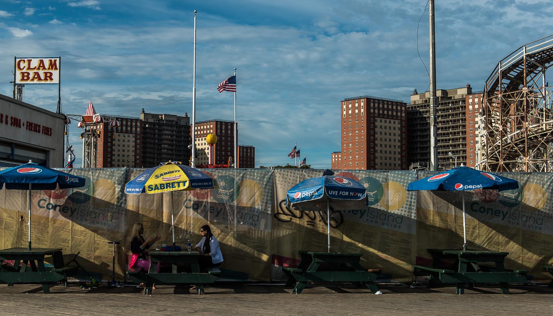 Coney Island - Afternoon break