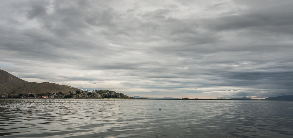 Lake Titicaca sits at 12,500 feet above sea level, it is the highest navigable lake in the w
