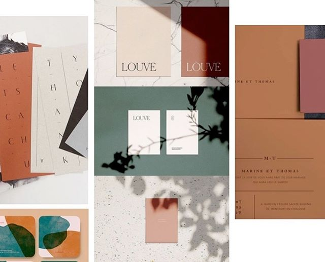 Looking back at our initial moodboard for OAK BOWRAL feat. Shades of terracotta and olive with sophisticated type and photography treatments. A wholesome yet elegant aesthetic to reflect an equally luxurious property.