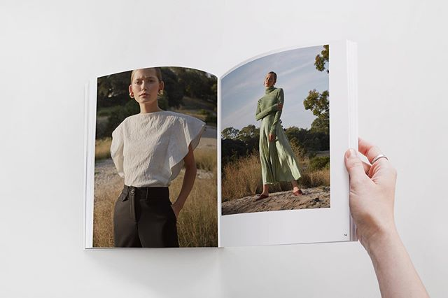 Fall '19 Lookbook layout for the lovely @annaquanlabel . . . #lookbook #fashion #layout #indesign #adobe #graphicdesign #designer #publication