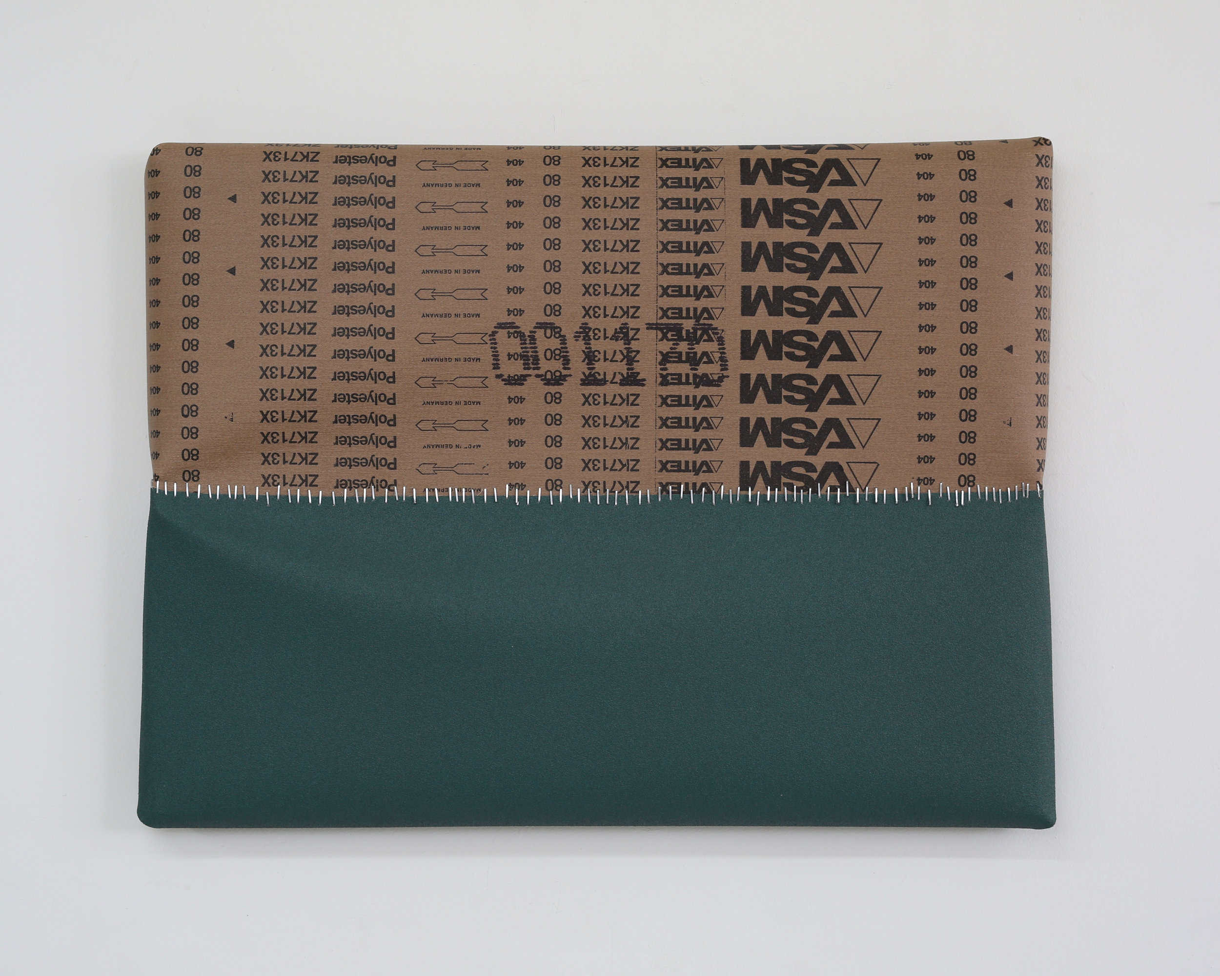 Untitled (Green with Back of Green, 80 Grit)