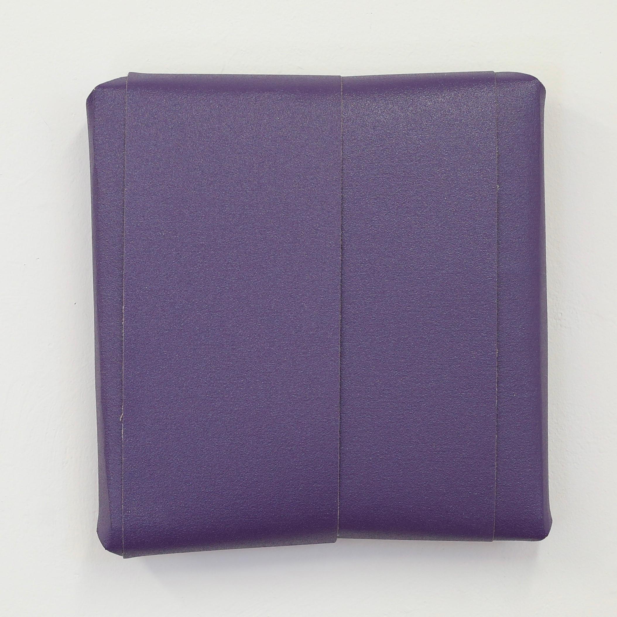 Untitled (4 Belts of Purple, 100 Grit)