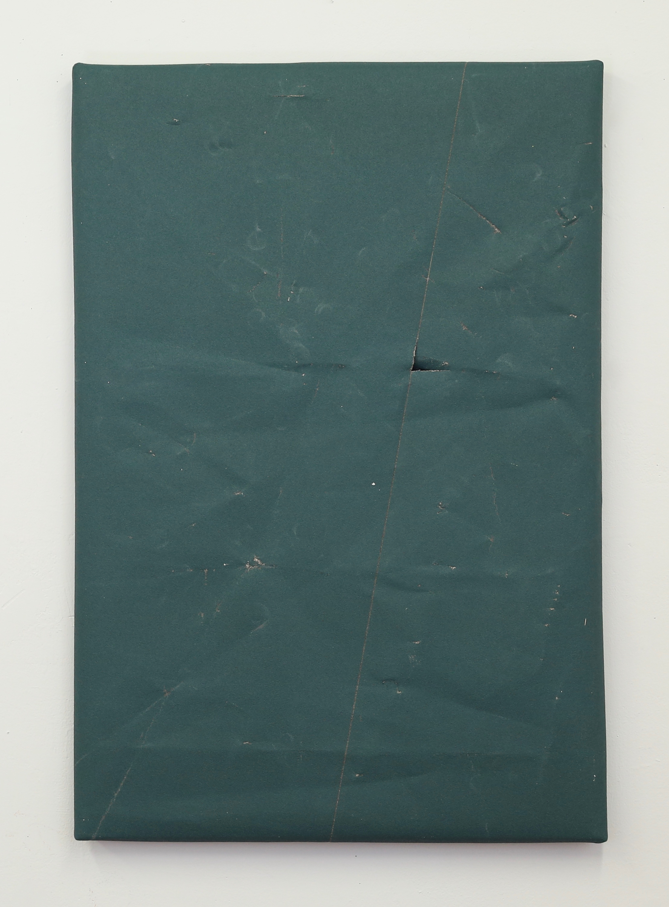 Untitled (Green with Stitching, 80 Grit)