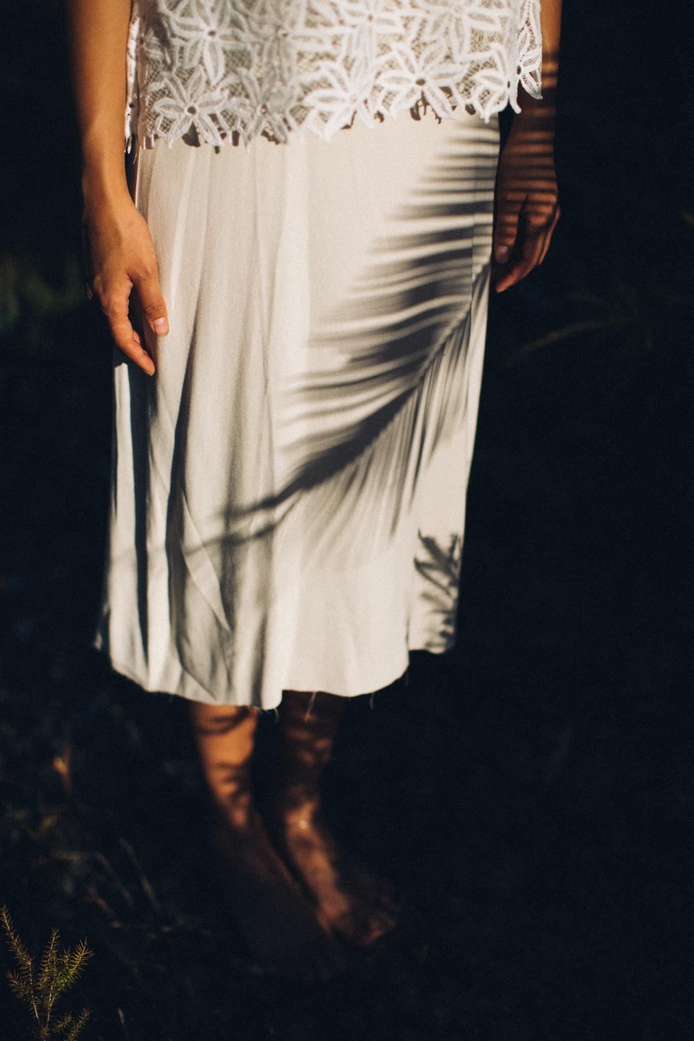 Mary Wears   Stevie May Daisy Chain Top + Commoners Silk Slip Dress