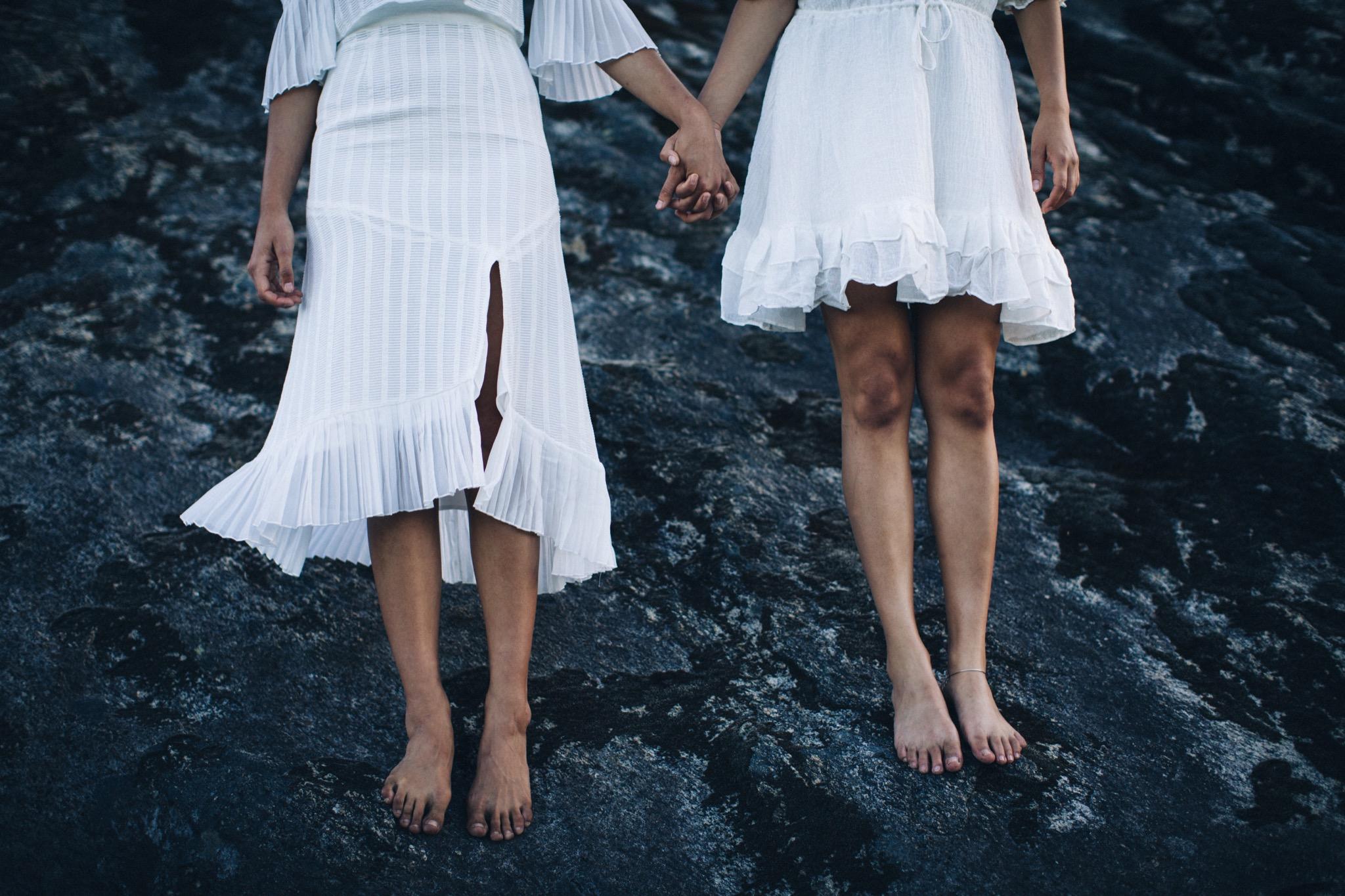 Anissa Wears   Stevie May Georgie Girl Midi Dress + 66 The Label Kingston Silk  Mary Wears   Stevie May Fantasy Mini Dress