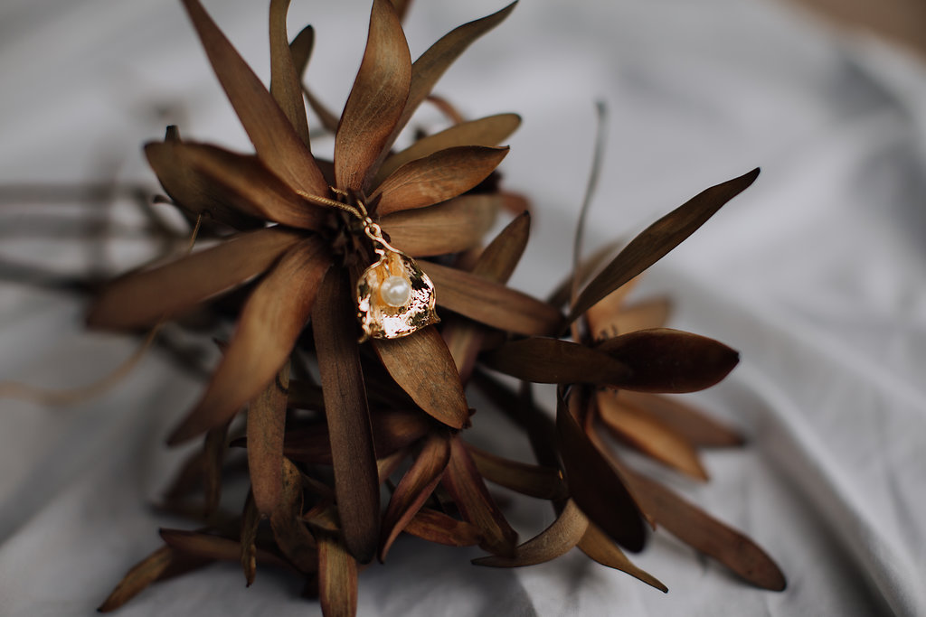 Reliquia   Zanibar Pearl Earrings