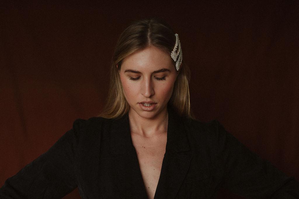 Third Form | Paisley Soft Blazer Dress Reliquia | Fabiana Clip