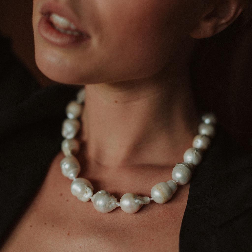 Reliquia | Keshi Pearl Strand Necklace