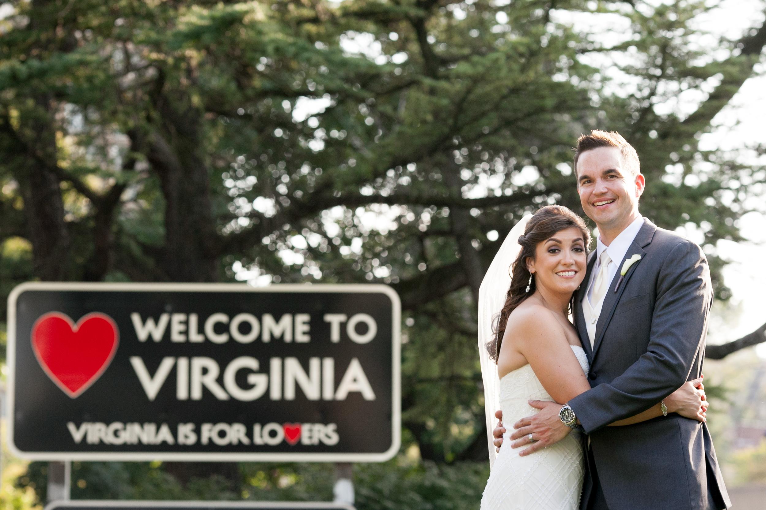 virginia is for lovers georgetown wedding