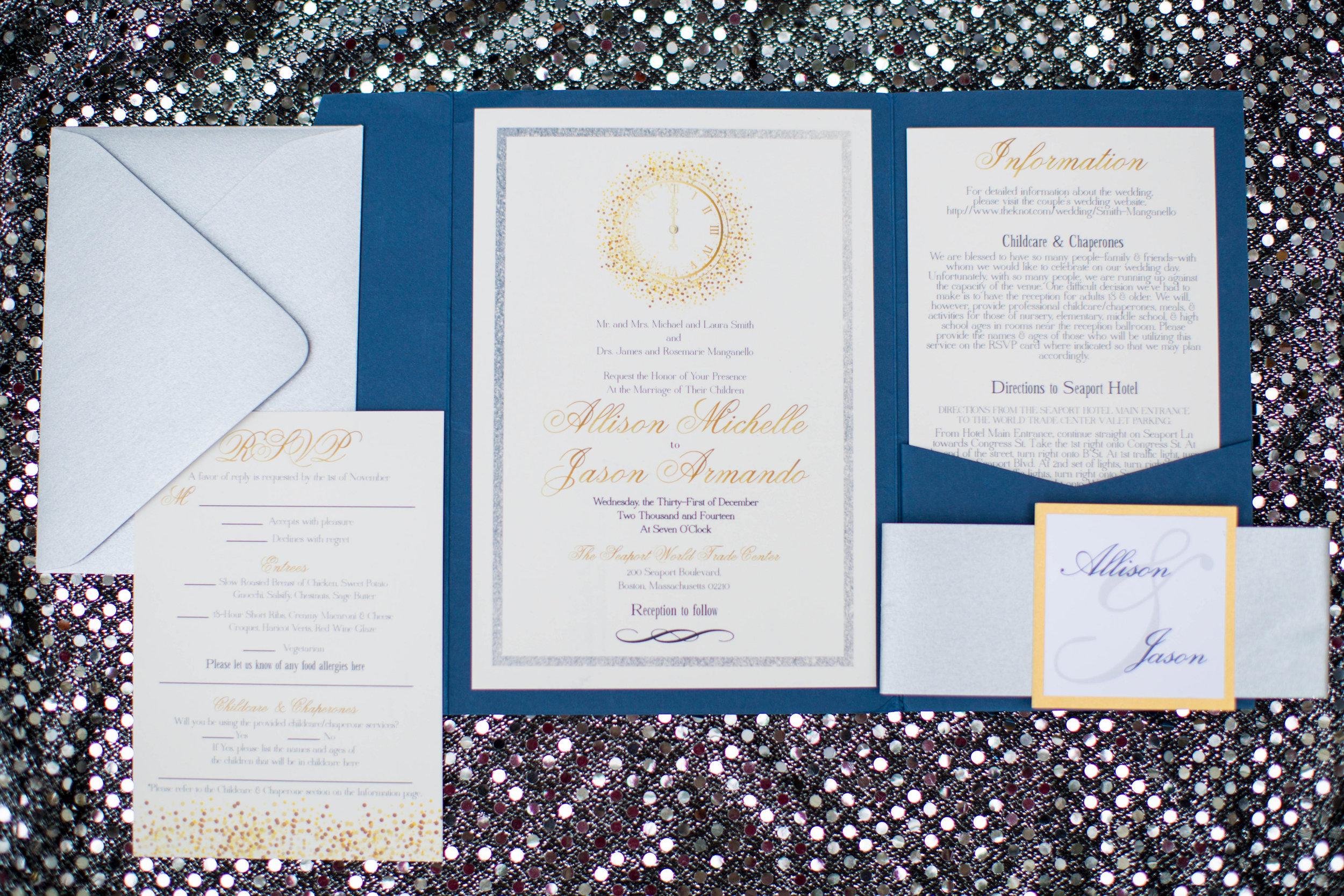 twila and co branding wedding invitation suite