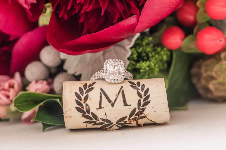 wine cork wedding ring photo by marirosa anderson