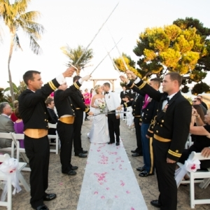 military navy san diego wedding at bali hai by sincerely pete events