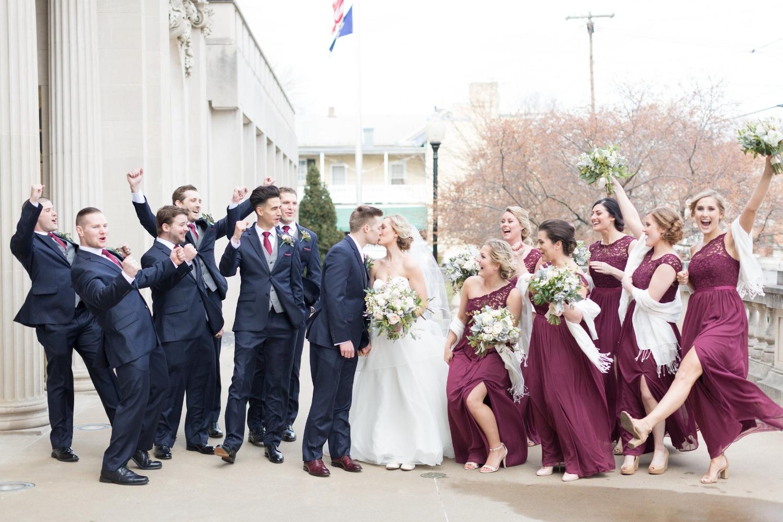 brett denfeld sincerely pete virginia wedding photographer wedding party bride and groom
