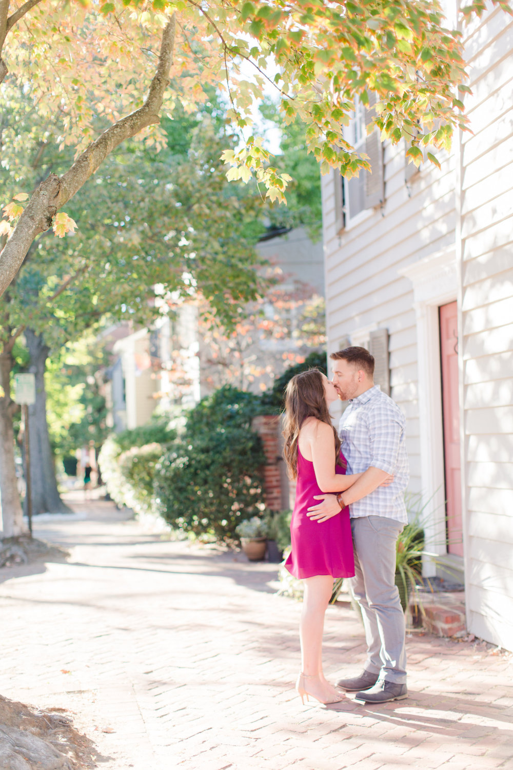 Fall Old Town Alexandria Engagement Photos Megan Kelsey Photography and Sincerely Pete Events - 1.jpg