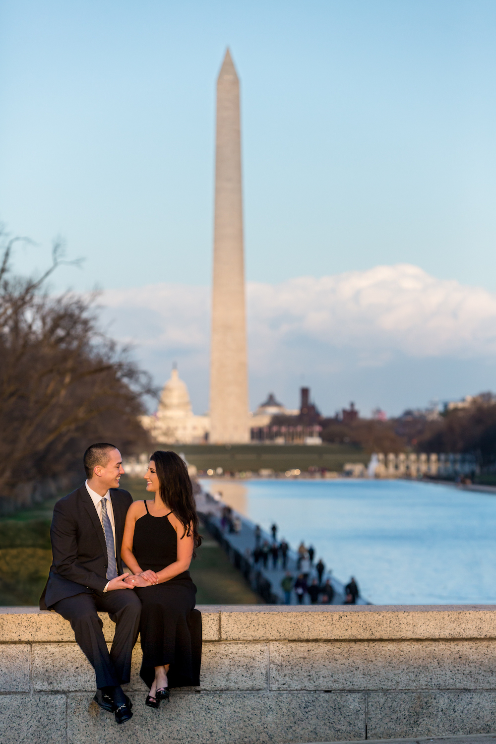 Sincerely Pete Events DC Engagement Shoot © Procopio Photography