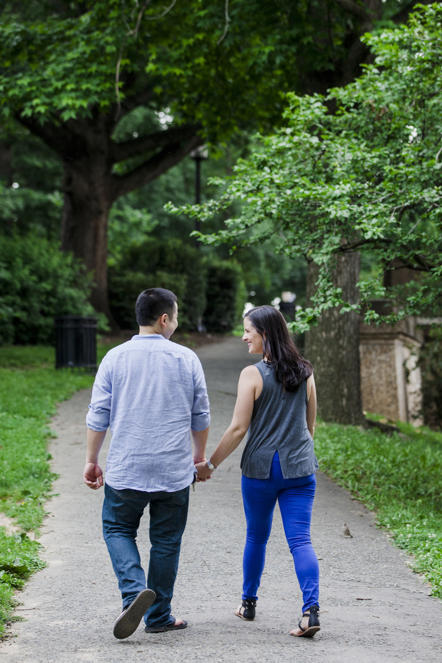 Washington DC Meridian Hill Park Engagement Shoot with Lillie Elliot Photography and Sincerely Pete Events