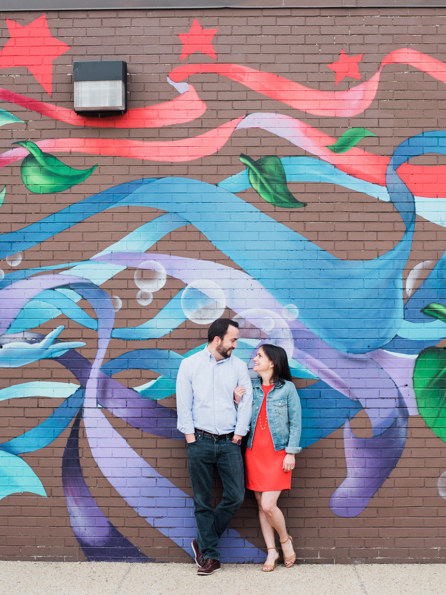 Eastern Market Washington DC Engagement Session Lissa Ryan Photography Sincerely Pete Events