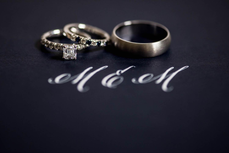 Washington DC Wedding - Sincerely Pete Events - Erin Tetterton Photography -Navy Blue Invitation Monogram