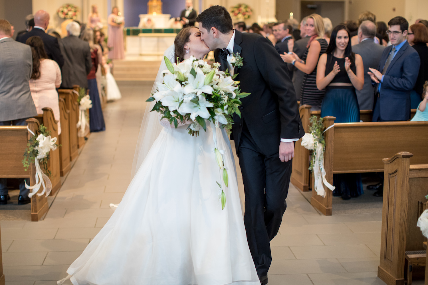 St Louis Church Washington DC Wedding Sincerely Pete Events Liz and Ryan Photography
