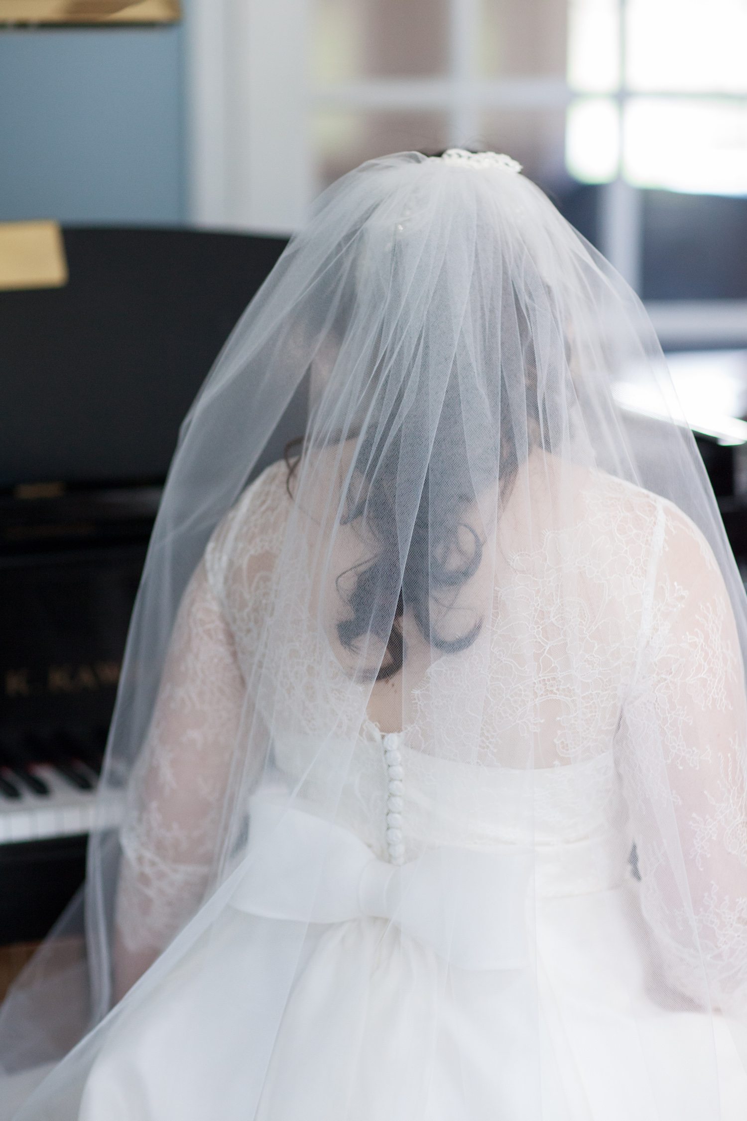 Bridal Veil St Francis Hall Washington DC Wedding Sincerely Pete Events Liz and Ryan Photography
