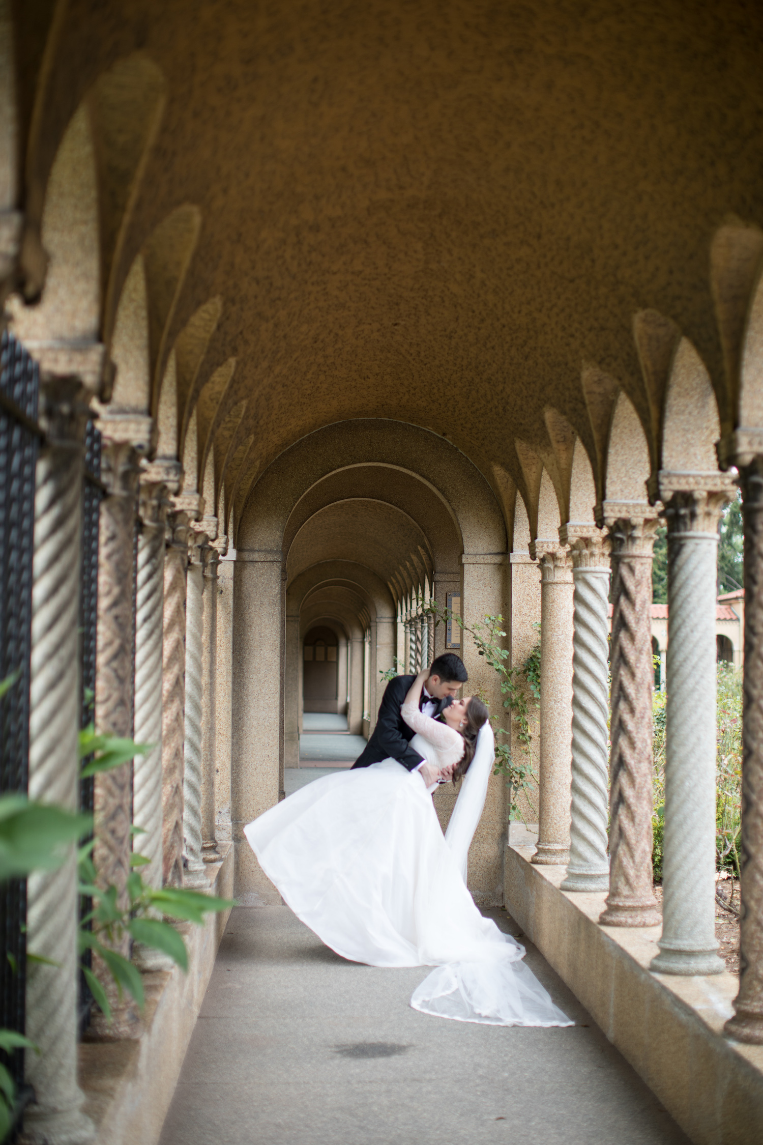 Couples Portraits St Francis Hall Washington DC Wedding Sincerely Pete Events Liz and Ryan Photography