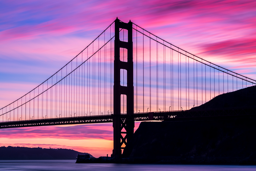 Winter's Golden Gate