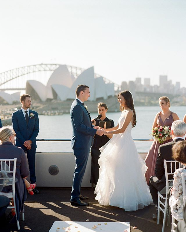 Ben & Krista's stunning wedding aboard @starship_group on Sydney Harbour. What a spectacular back drop with the Opera House and Sydney Harbour Bridge. • • • • • #filmphotography #filmisnotdead #bride #portra400 #ishootfilm #analog #believeinfilm #weddingday #filmcamera #weddingdress #australianfilmphotographer  #film #filmcommunity #contax645  #staybrokeshootfilm #analogphotography #shootfilm #analogue #120film #buyfilmnotmegapixels #weddingphotography #keepfilmalive #bridal #weddinginspiration #weddingphotographer #groom #analogfeatures #filmphoto #kodak #analoguevibes