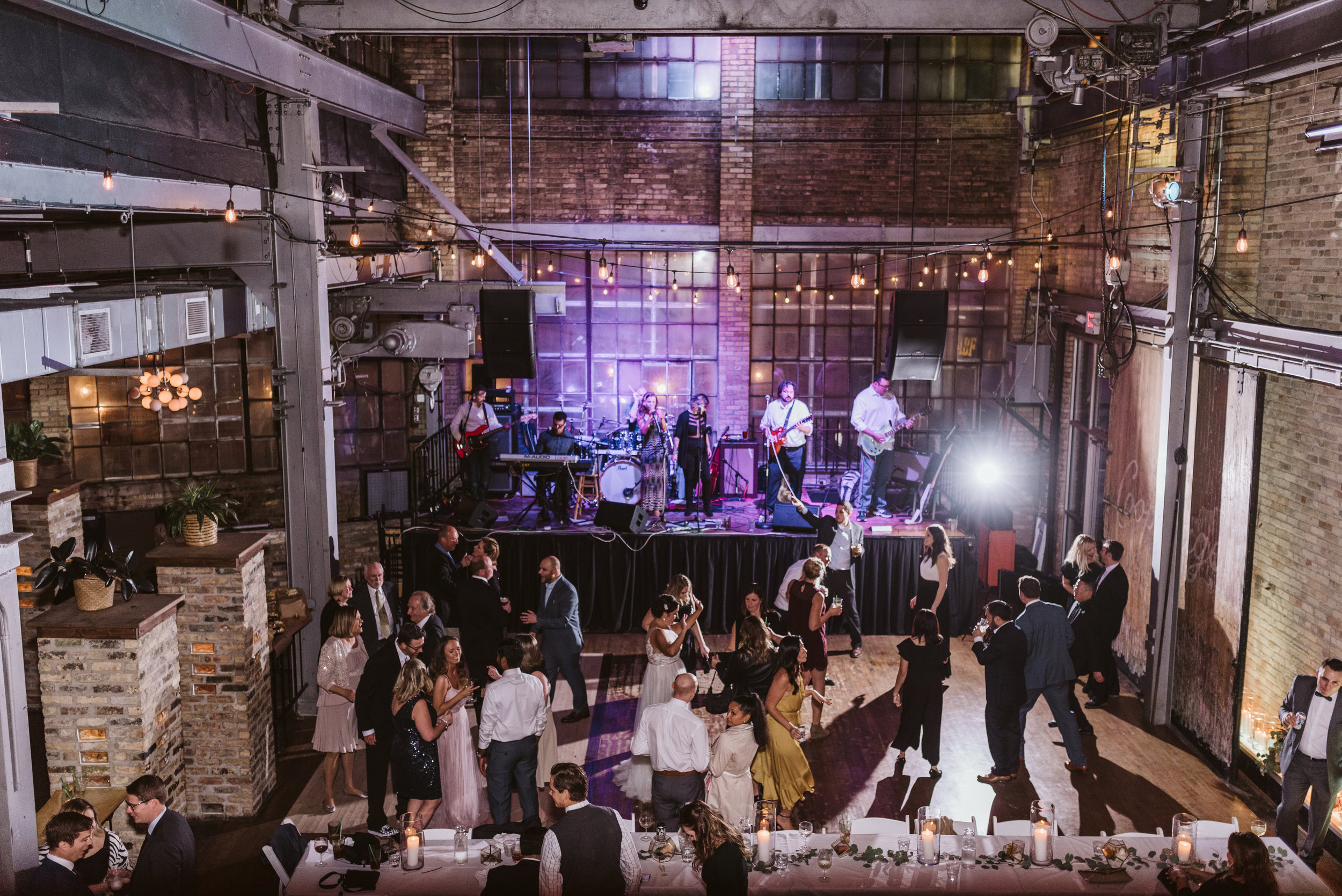 The Cooperage Milwaukee Wedding