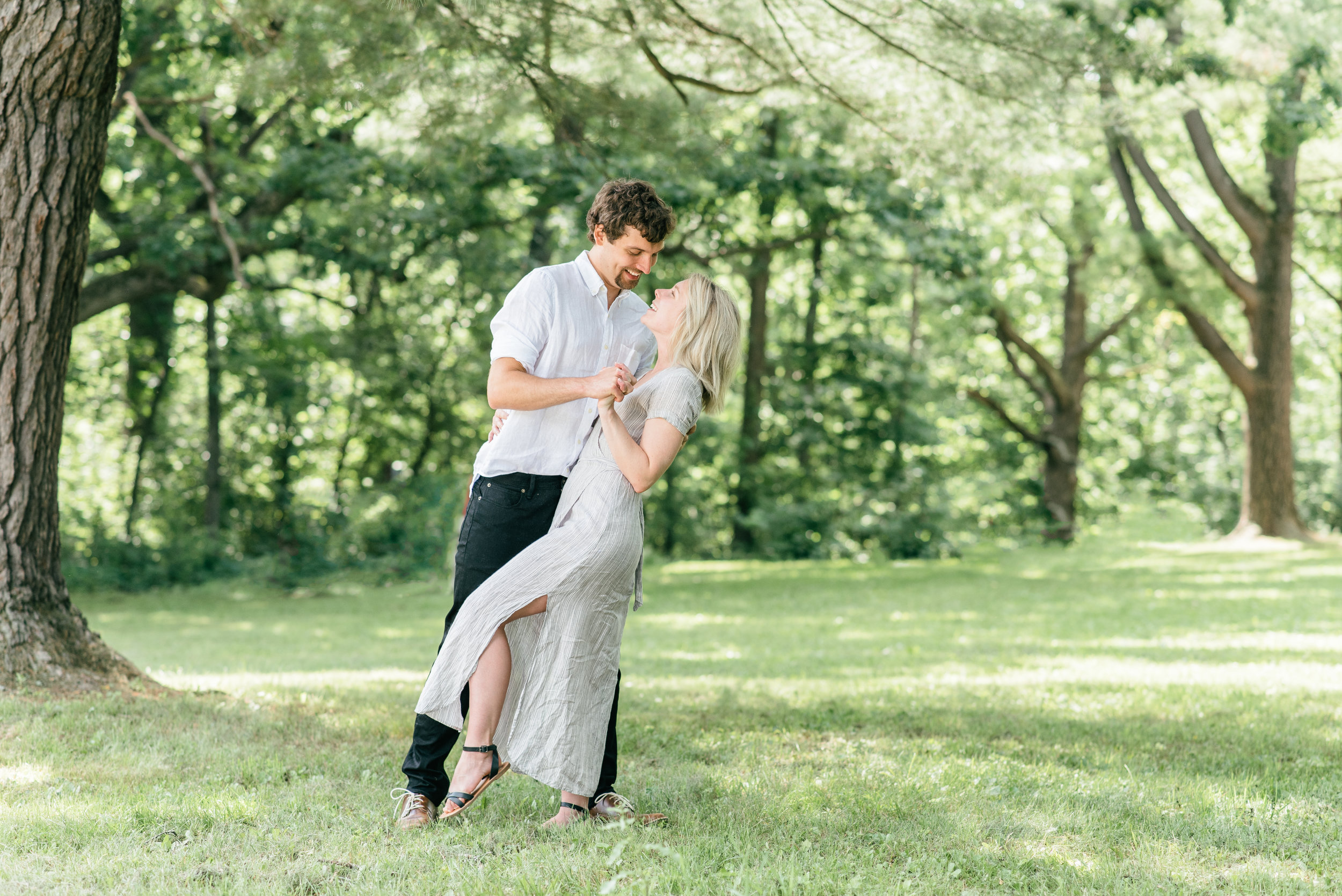Dodgeville Wisconsin engagement session