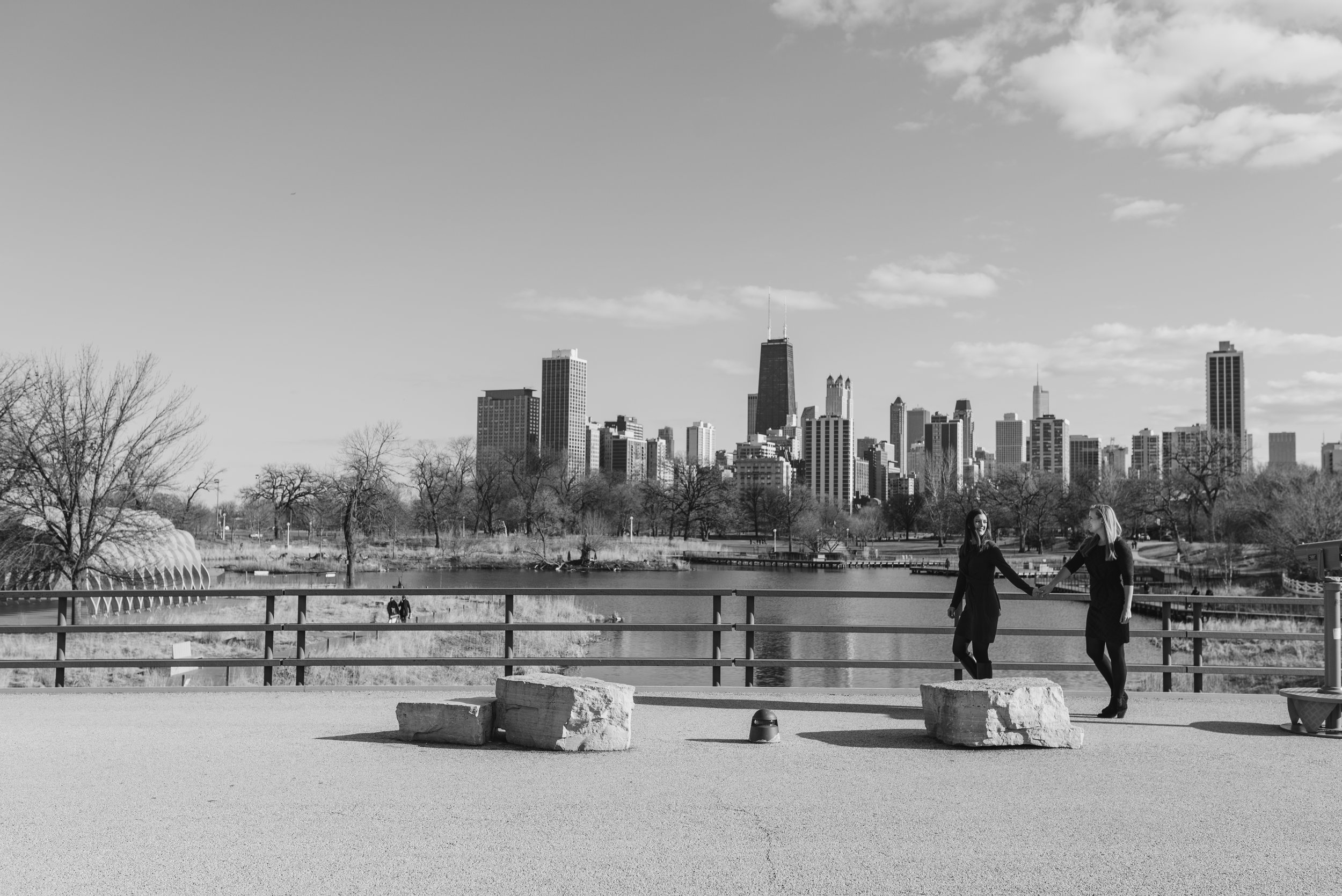 lincoln park engagement session chicago wedding photographer