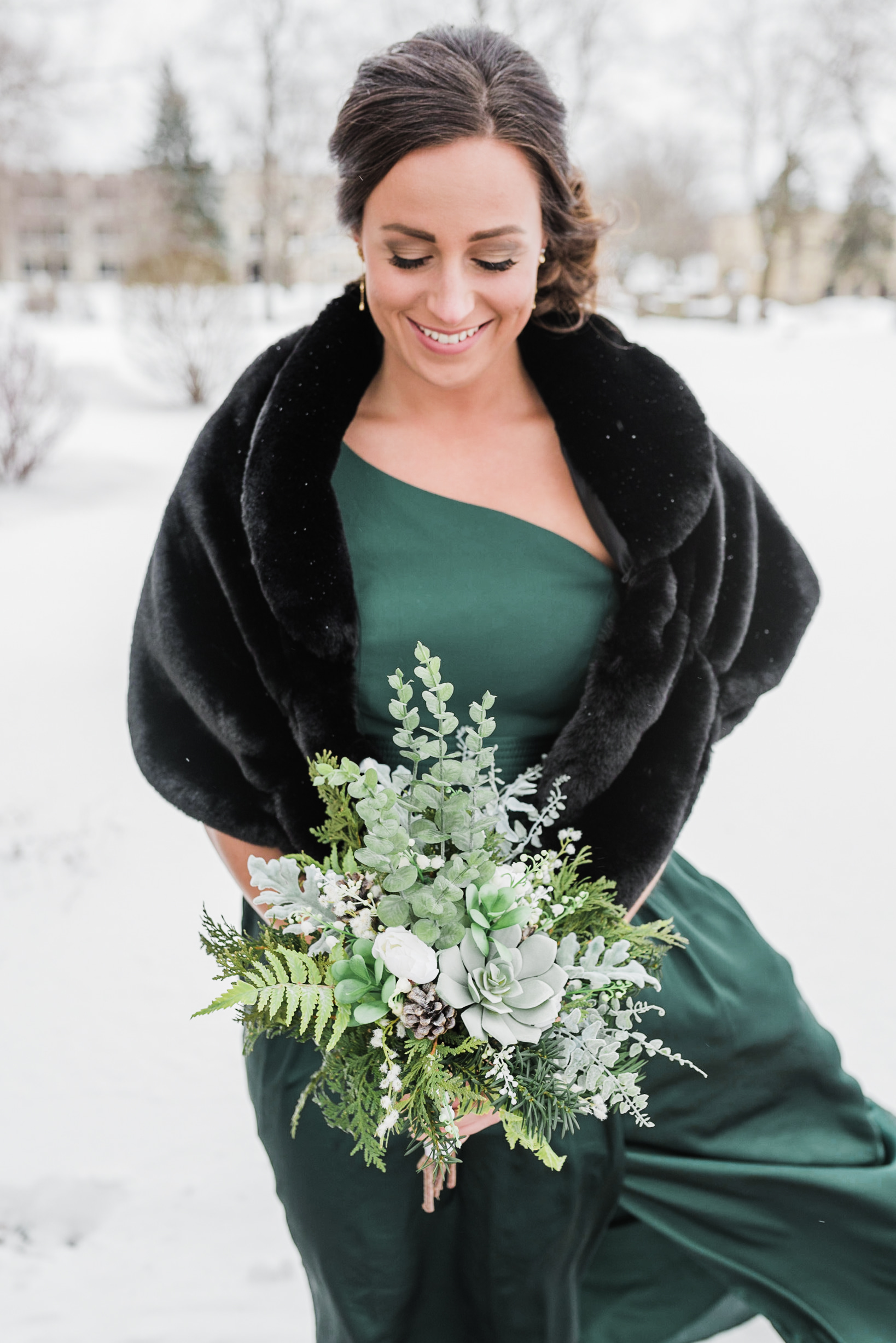 Wisconsin Winter Wedding Gavyn Taylor Photo